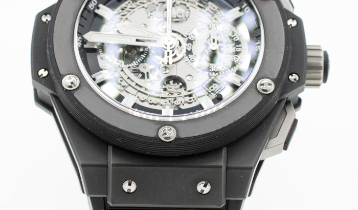 Luxury-Motors-Hublot-King-Power-Unico-Black-Magic